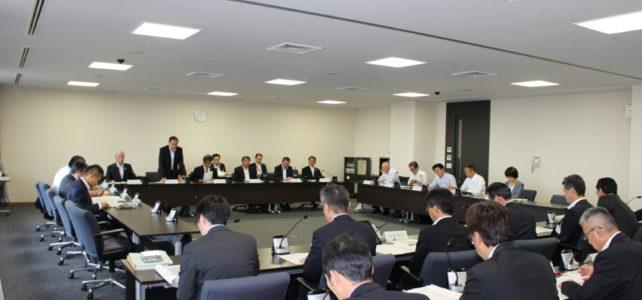 行財政改革特別委員会・総務委員会連合審査会(H30.6.19)