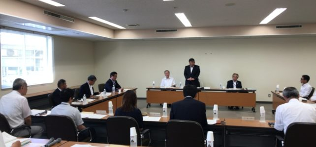 中海・宍道湖圏域市議会議長会(H30.8.2)