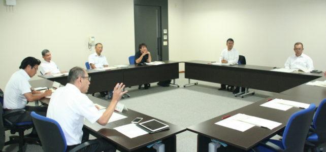 議会広報誌編集委員会(H30.8.10)