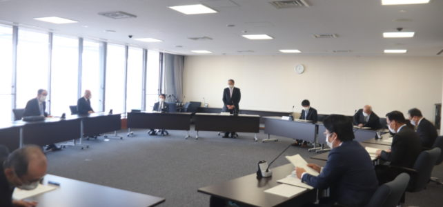 令和2年度 第2回出雲市議会災害対策会議(R2.4.30)