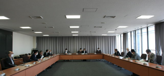 令和2年度 第3回出雲市議会災害対策会議(R2.6.2)