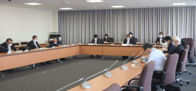 令和2年度 第4回出雲市議会災害対策会議(R2.6.29)
